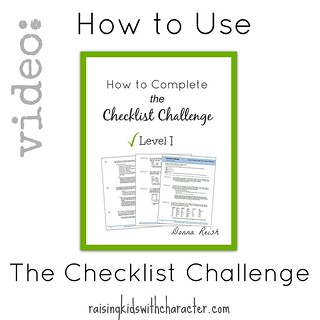 How to Use The Checklist Challenge