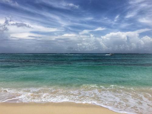 ocean sea beach water landscape coast seaside sand wave bahamas nassau