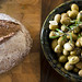 Bread and olives by IlanBresler