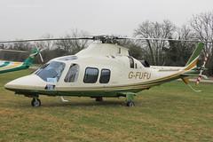 G-FUFU - 2007 build Agusta A109S Grand, visiting the 2015 Cheltenham Festival