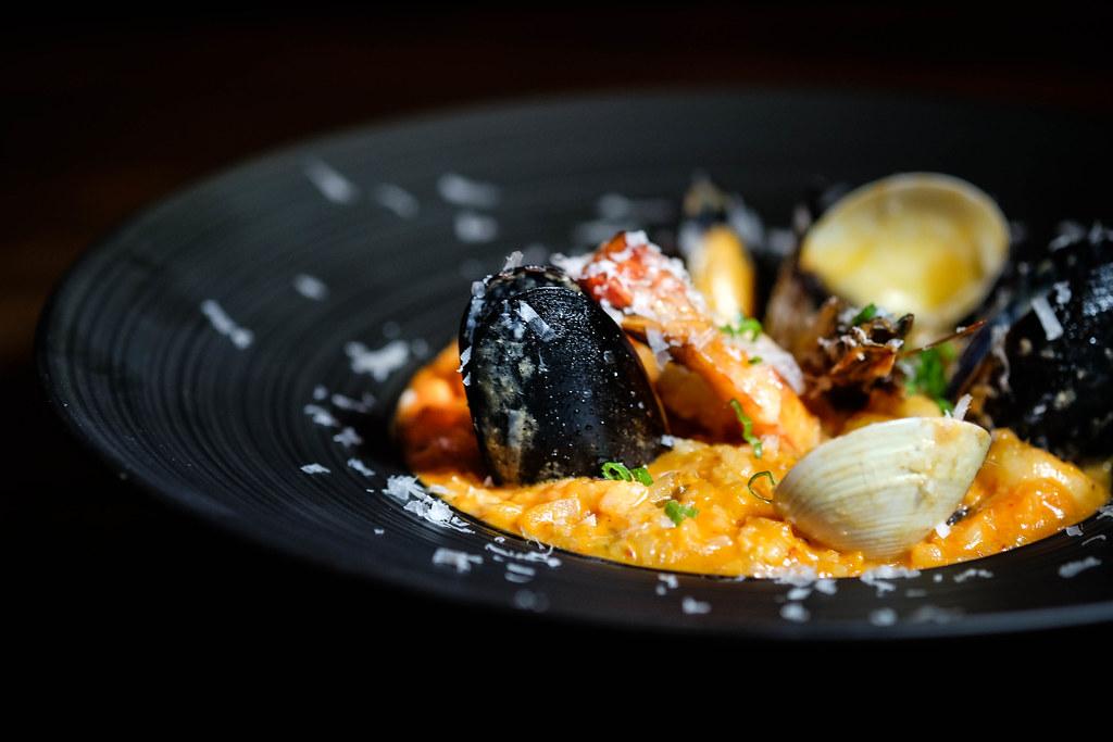 JOO Bar: Seafood Gochujang Risotto