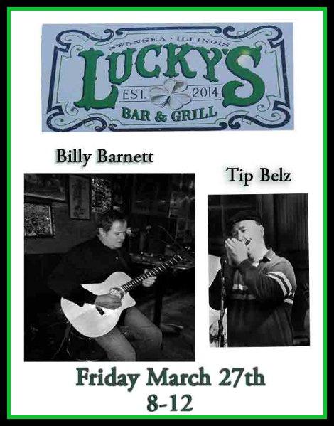 Billy Barnett and Tip Belz 3-27-15