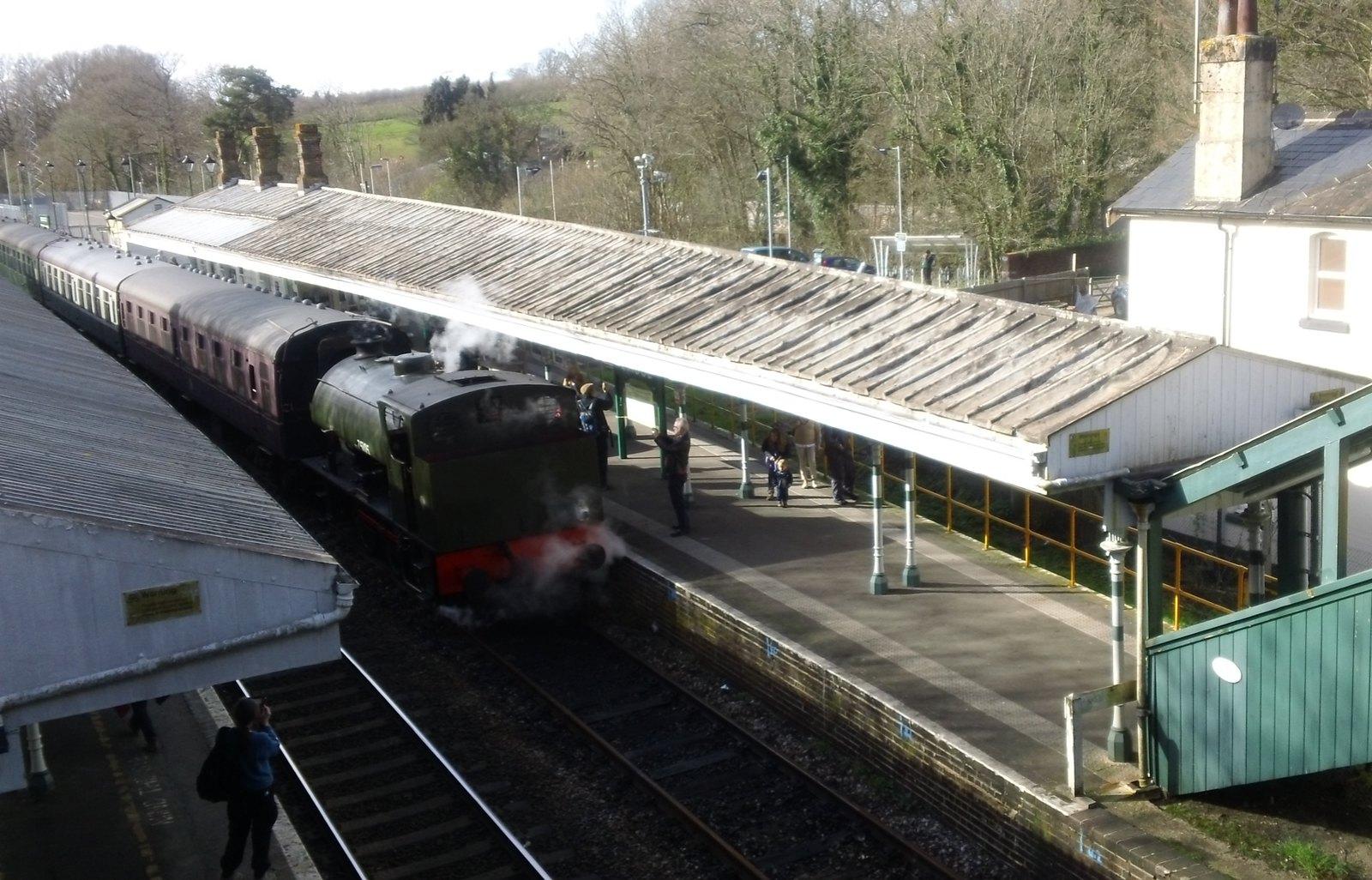 Don't get too excited! Vintage train, Eridge, Kent