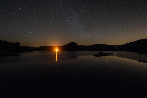 uk longexposure water wales night reflections stars star nikon space astro nightime gb astronomy nightsky universe milkyway lakevyrnwy d7100 sigma1020mmf35exdchsm reflectionofstars astronomyrelated