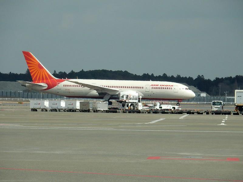 NARITA Air India B787-8