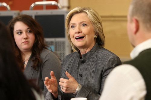 Hillary Clinton at NHTI Community College Event 4_21_2015