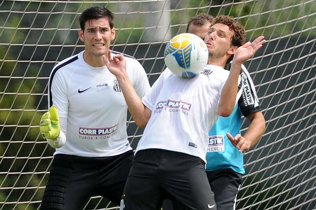 Elano e Gabriel Gasparotto