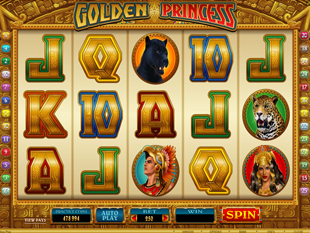 Golden Princess slot game online review