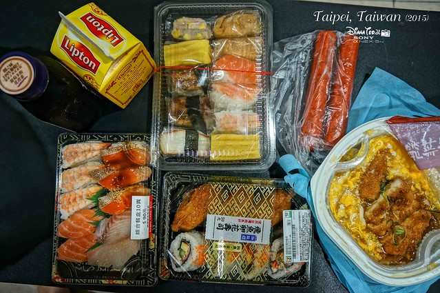 Taiwan - Cheap Sushi for NT$10