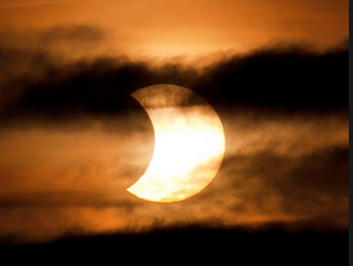 Eclipse solar parcial