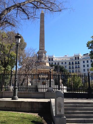 Monumento 2 de Mayo. Madrid