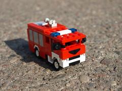 Mini man tgs plastisol 18 440 straż pożarna gcba
