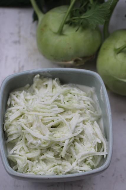 Jerusalem artichokes peas butter lemon rind fried