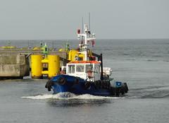 Lotsenboot PILOT 51 läuft in Kolobrzeg ein