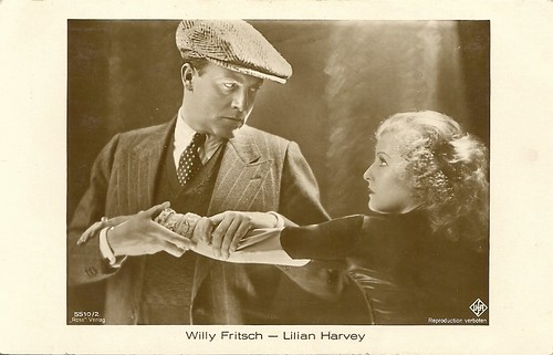Willy Fritsch and Lilian Harvey