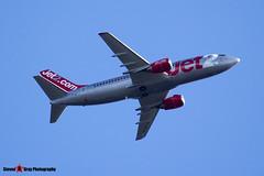 G-CELO - 24028 1599 - Jet2 - Boeing 737-33A(QC) - Luton M1 J10, Bedfordshire - 2015 - Steven Gray - IMG_4789