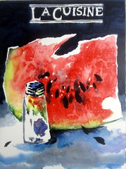 Watermelon slice, by Alice - DSC09294