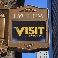 Enjoyed a wonderful preview of #TheVisit staring #ChitaRivara @LyceumTheater #BroadwayMusical