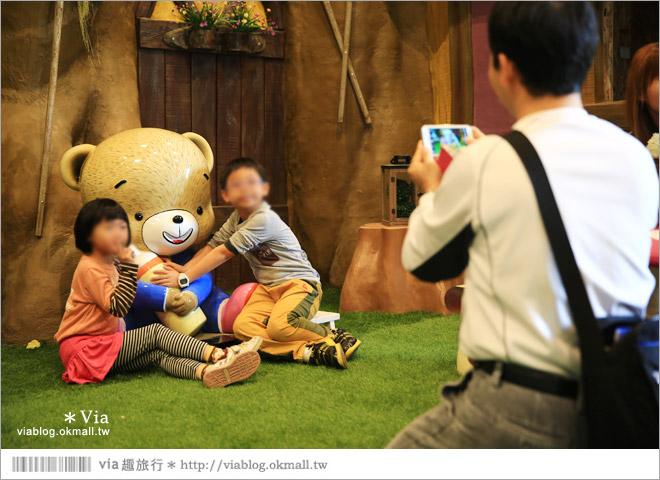 【熊大庄】嘉義民雄熊大庄森林主題園區~新觀光工廠報到!小熊的童話森林真實版24