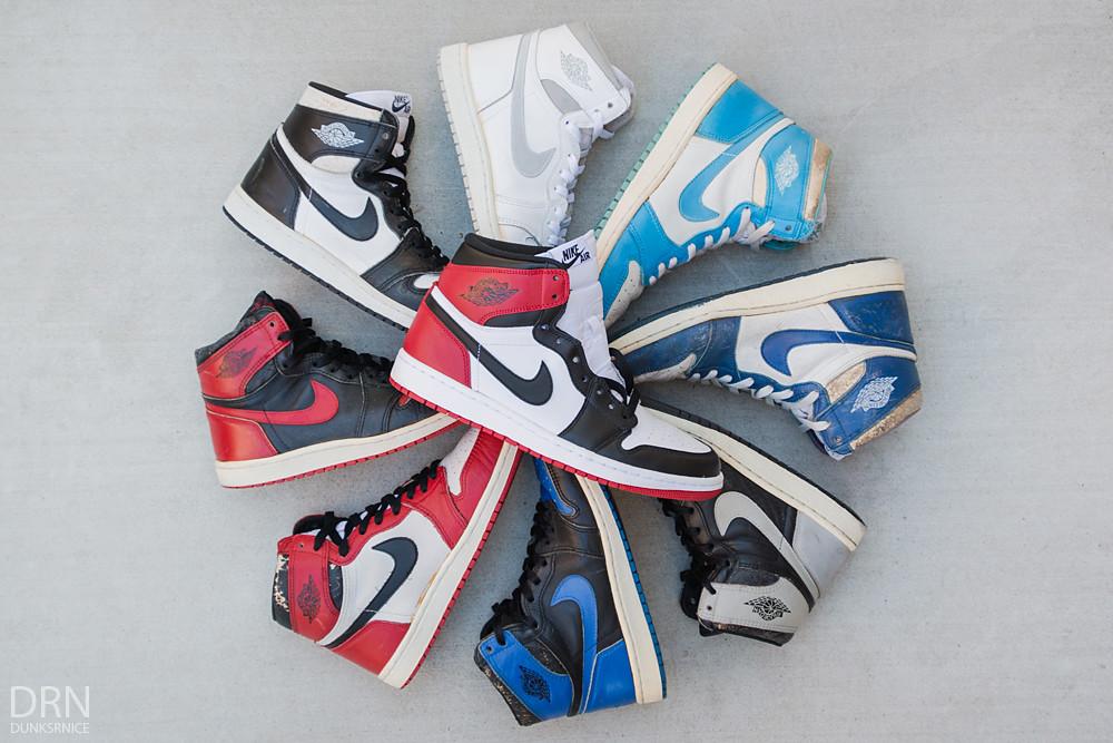 1985 & 2013 Black Toes.