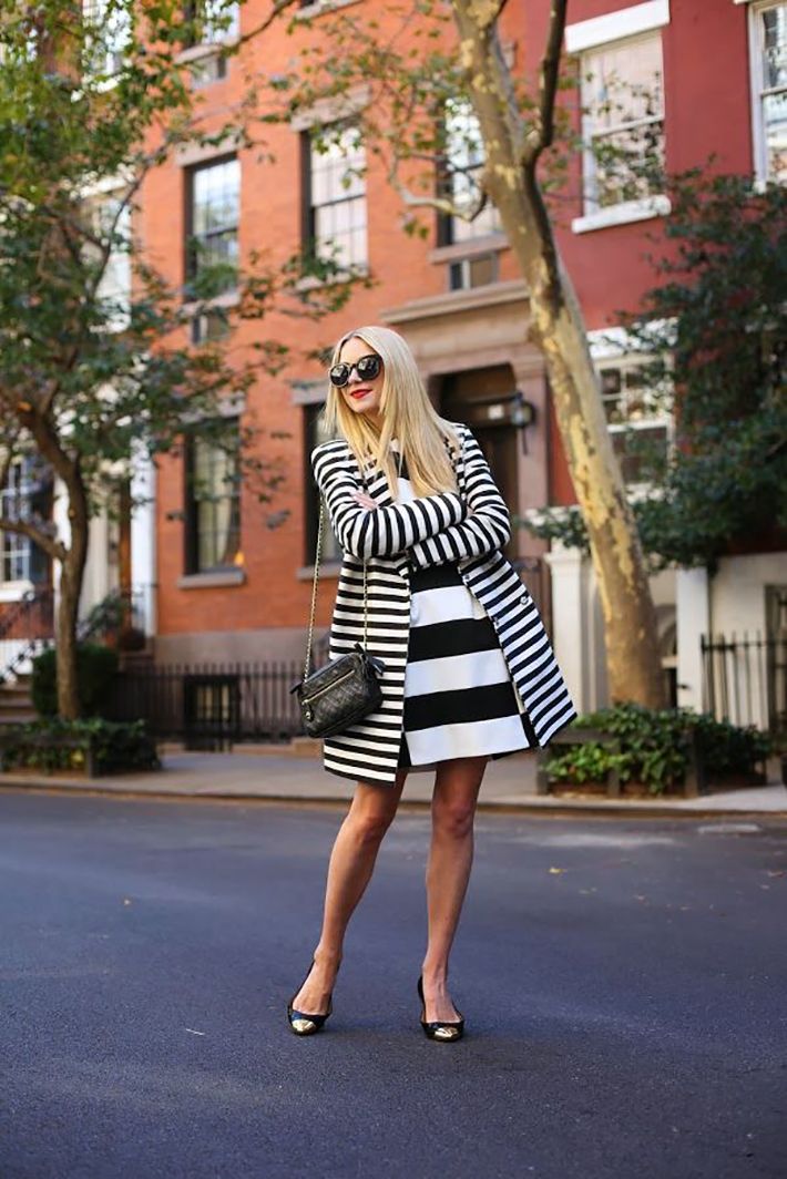 Stripes Navy Style Inspiration Streetstyle05