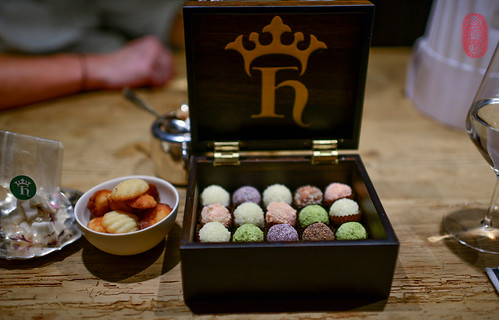 Kong Hans box of truffles.