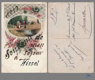 1919 - Souvenir de mon séjour à Wissel