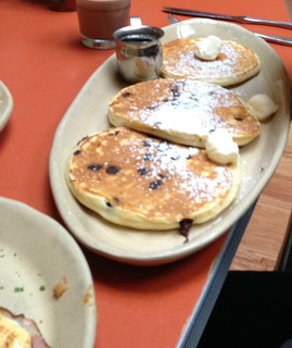 Snooze an A.M. Eatery - Flight of Chocolate Chip Pancakes