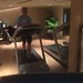 Running in the gym at The Langham Xintiandi