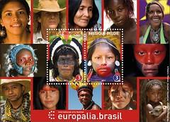 23 Europalia Brasil Bloc feuillet