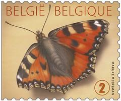 07bis PAPILLON BELG val2 timbre