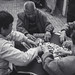 Beijing Daily Life - Playing Mahjong
