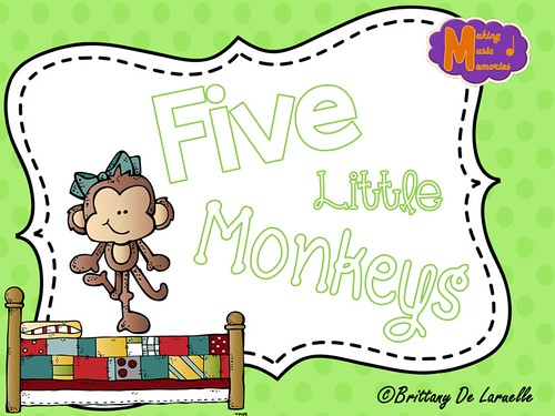 Five Little Monkeys - Cover