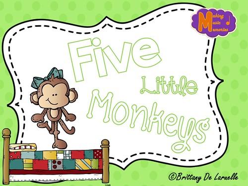 Five Little Monkeys - Cover