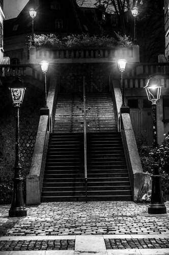 Montmartre, Stairway