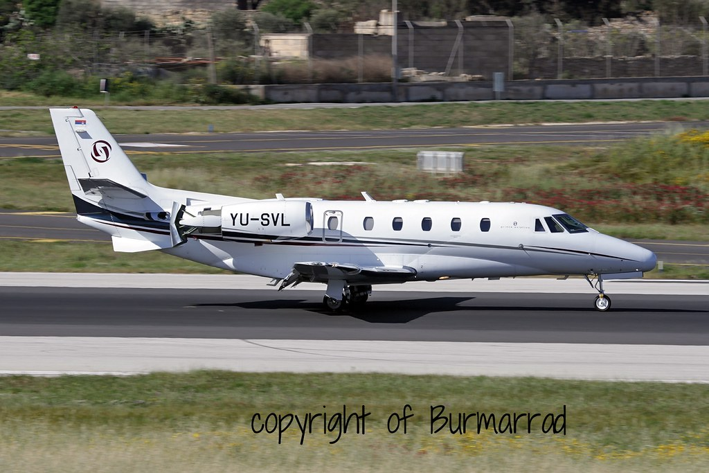 YU-SVL - C56X - Prince Aviation