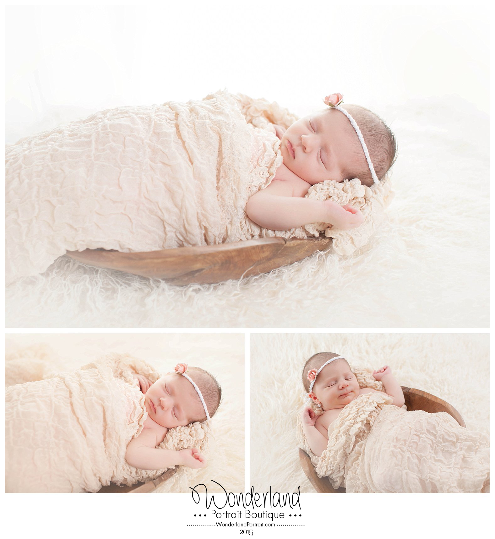 Natural Newborn Photography Poses  Newtown PA WonderlandPortrait.com