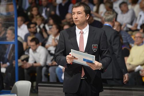Coach Banchi al clinic della Final Four