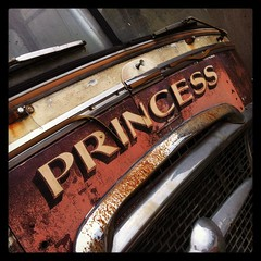 Hello Princess. Loads of derelict cool crap in this secret location of a yard this afternoon!