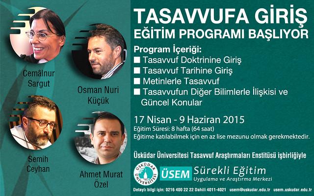 Tasavvufa Giriş Eğitim Programı Başlıyor