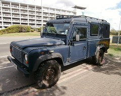 West Midlands Police Land Rover Tactical Intervention Vehicle