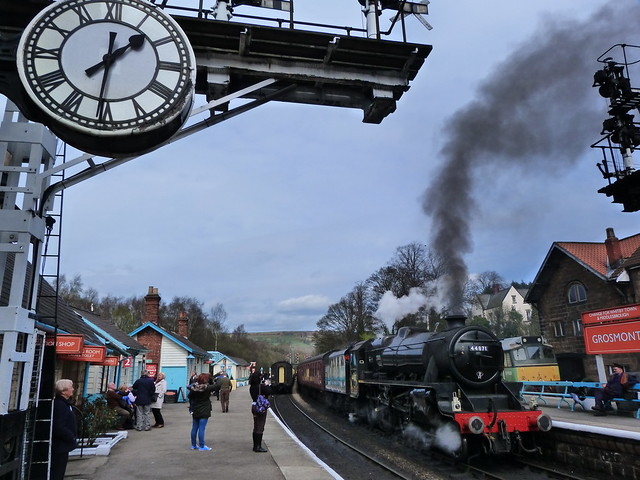 Estación de Grosmont (North Yorkshire Moors Railway)