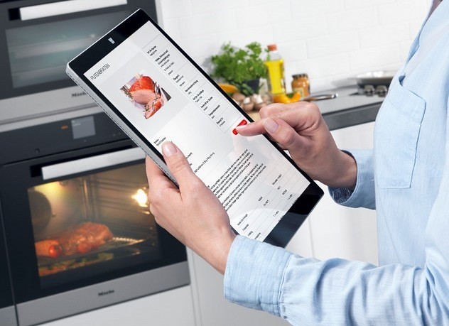 Microsoft Azure Assisted Miele Cooking Appliance
