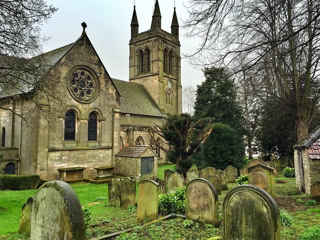 Iglesia y cementerio de Helmsley (Yorkshire, Inglaterra)