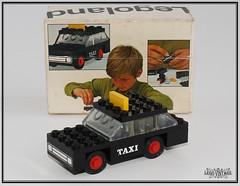 Legoland 605 Taxi ca. 1970