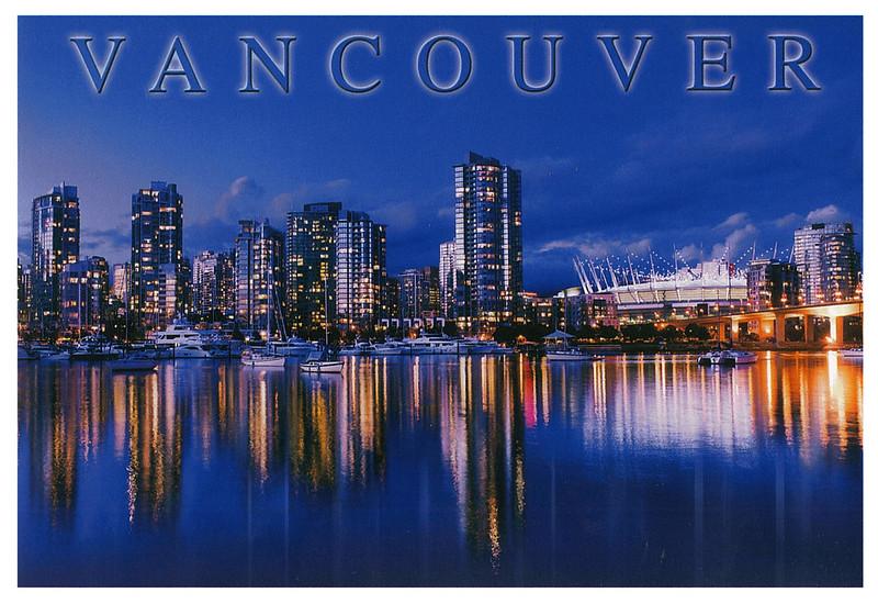 Canada - Vancouver - skyline