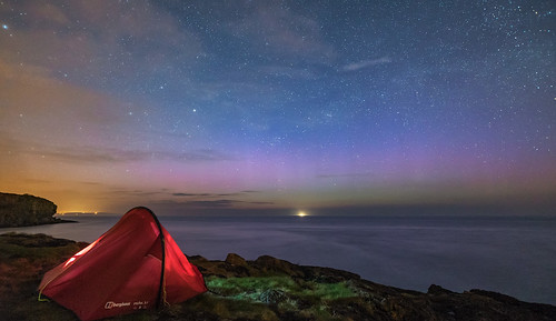 'Camping On The Coast' - Anglesey