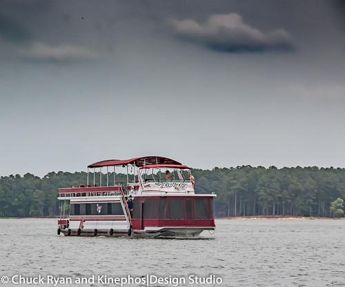 morning lake river georgia landscape boat us spring exterior unitedstates outdoor unitedstatesofamerica houseboat sideview hdr highdynamicrange mccormick plumbranch lincolnton ruralphotography southcarolinasc georgiaga kinephosdesign kinephos chuckryanphotography
