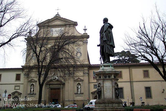 Plaza de San Marcos, Florencia. © Paco Bellido, 2003