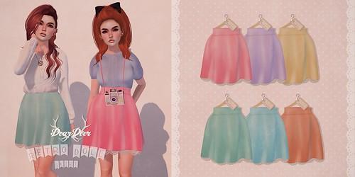 ♥ Retro Doll Skirt ♥ @ Kawaii Project March 15th!